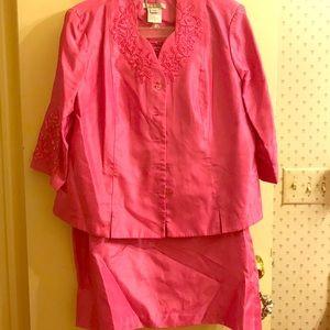 Dresses & Skirts - Fuchsia (hot pink) women's Dress Suit